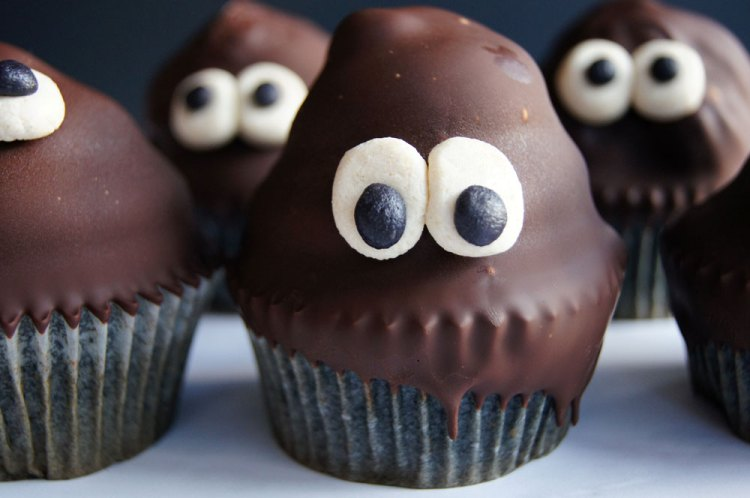 Geister-Cupcakes