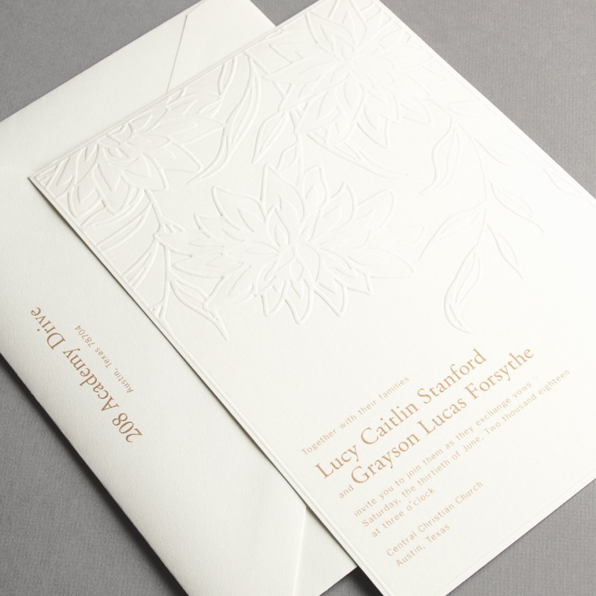 La Jolla Wedding Invitations