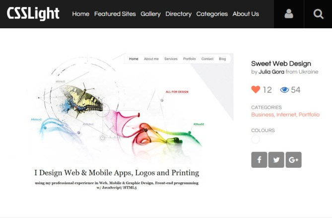 SweetWebDesign  on featured gallery
