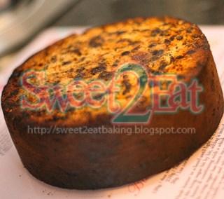 Traditional Christmas Cake Part I