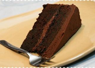 Chocolate Butter Cake w/Buttercream Icing