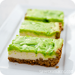 Key Lime Cheesecake Bars Recipe