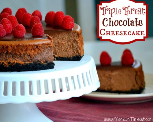 Threat Chocolate Cheesecake by Mom on Timeout