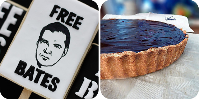Downton Abbey Free Bates Cookies | Rich Chocolate Fudge Tart
