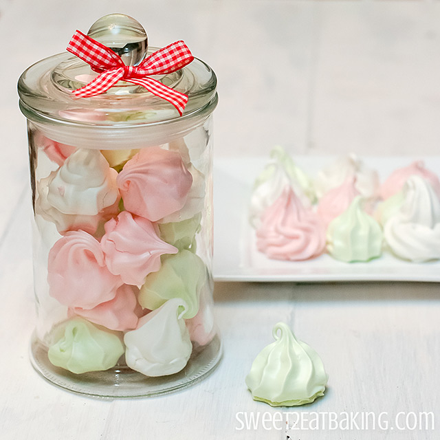 Meringue Kisses Recipe by Sweet2EatBaking.com