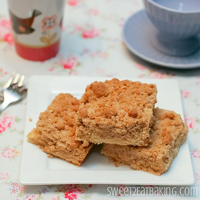 New York Crumb Cake Recipe by Sweet2EatBaking.com