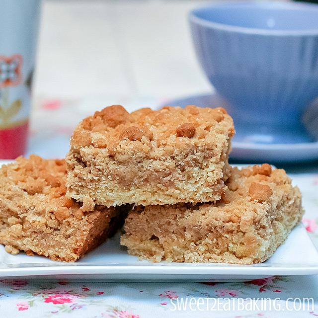New York Crumb Cake by Sweet2EatBaking.com