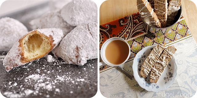 Cafe Du Monde Beignets | Coconut Chai Biscotti
