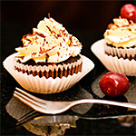 Black Forest Gâteau Cupcakes Recipe