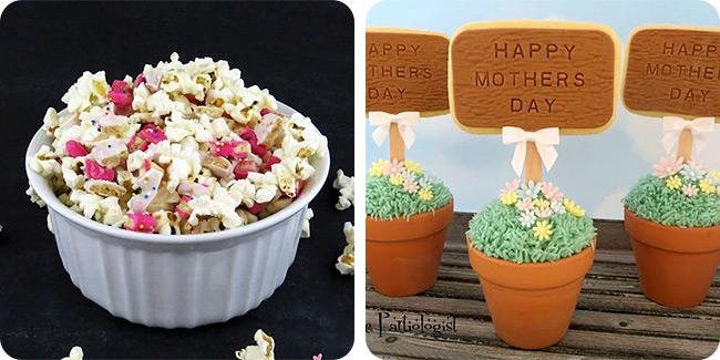 Sweet Popcorn | Flower Garden Cupcake Cookies