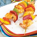 Summer Pineapple Shrimp Kebobs by Sweet2EatBaking