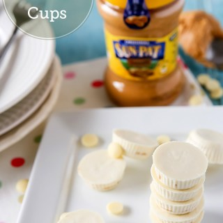 Mini White Chocolate Peanut Butter Cups Recipe | Sweet 2 Eat Baking #peanutbutter #cups #recipe