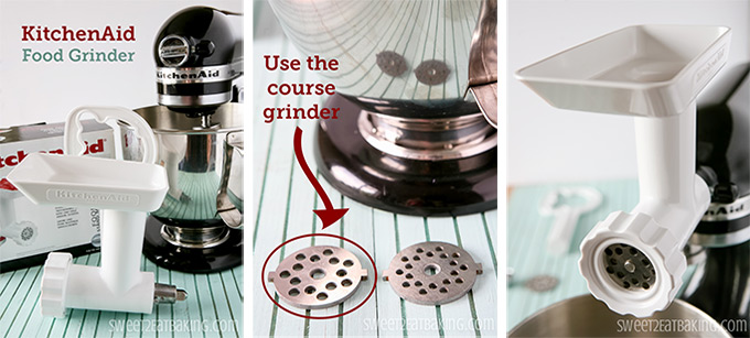 KitchenAid Food Grinder Hot Chocolate | Sweet2EatBaking.com | #hotchocolate #recipe