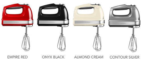 KitchenAid 9-Speed Hand Mixer Colours