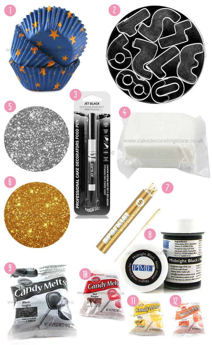 Giveaway Products from the Cake Decorating Store