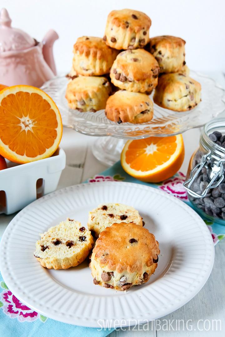 Chocolate and Orange Scones by Sweet2EatBaking.com