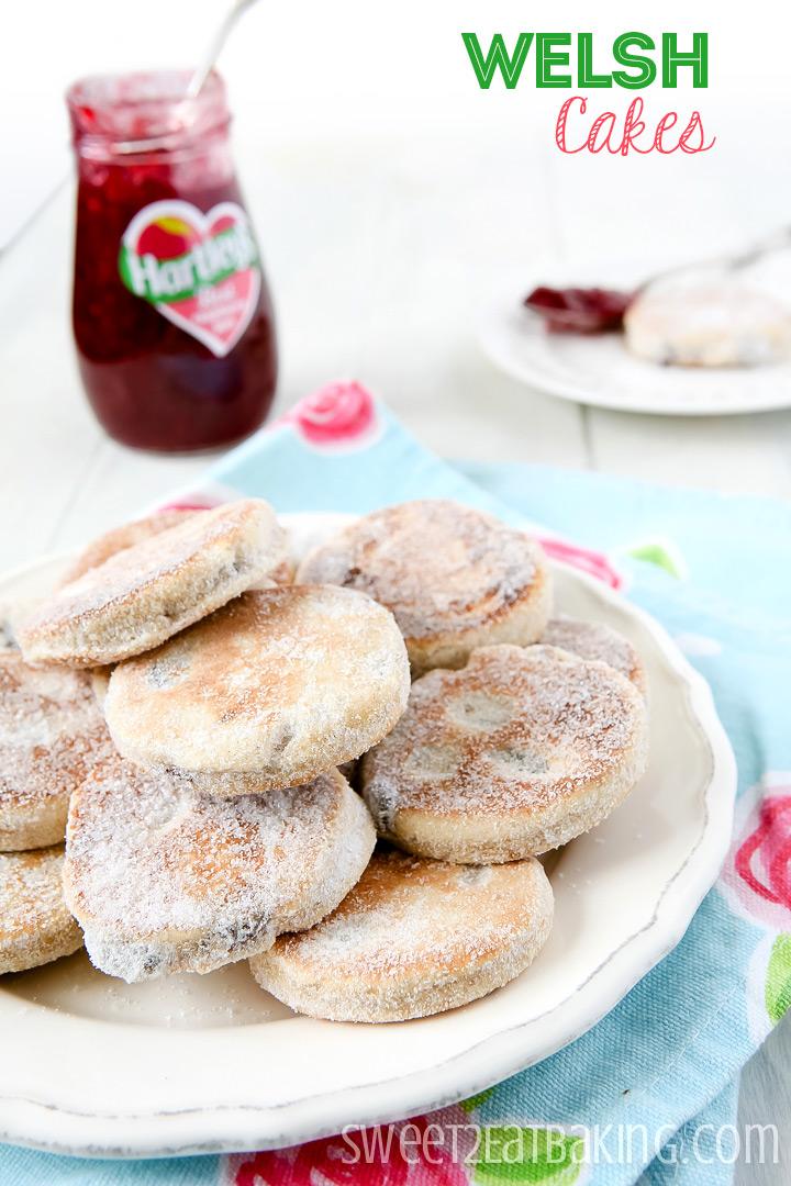 Welsh Cakes (picau ar y maen) Recipe by Sweet2EatBaking.com