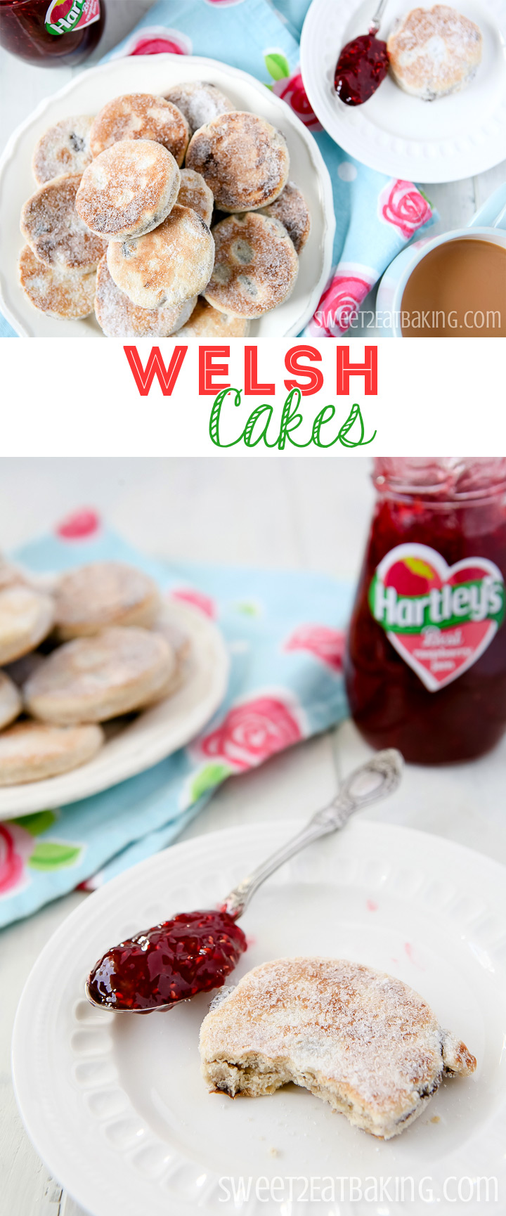 Welsh Cakes (picau ar y maen) Recipe for St David's Day by Sweet2EatBaking.com