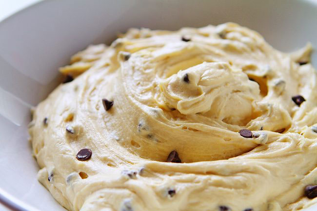 Creamy Cookie Dough Frosting Recipe