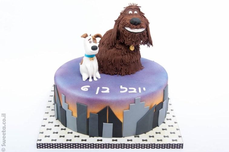 עוגת הכלבים של החיים הסודיים של חיות המחמד