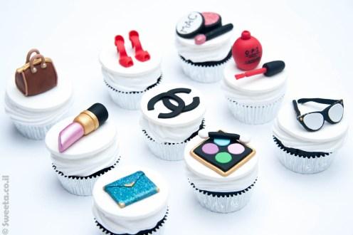 קאפקייקס מעוצבים אופנה וסטייל