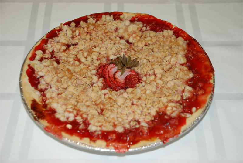 Gluten Free Pie Recipe – Strawberry Crumb