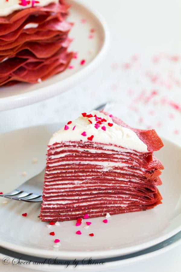 Two Layer Red Velvet Cake