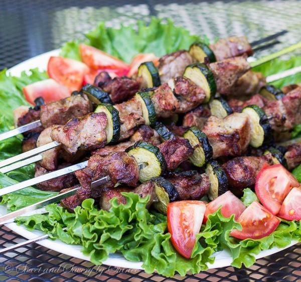 Pork Kebabs Russian Pork Shashlik Sweet Amp Savory By Shinee