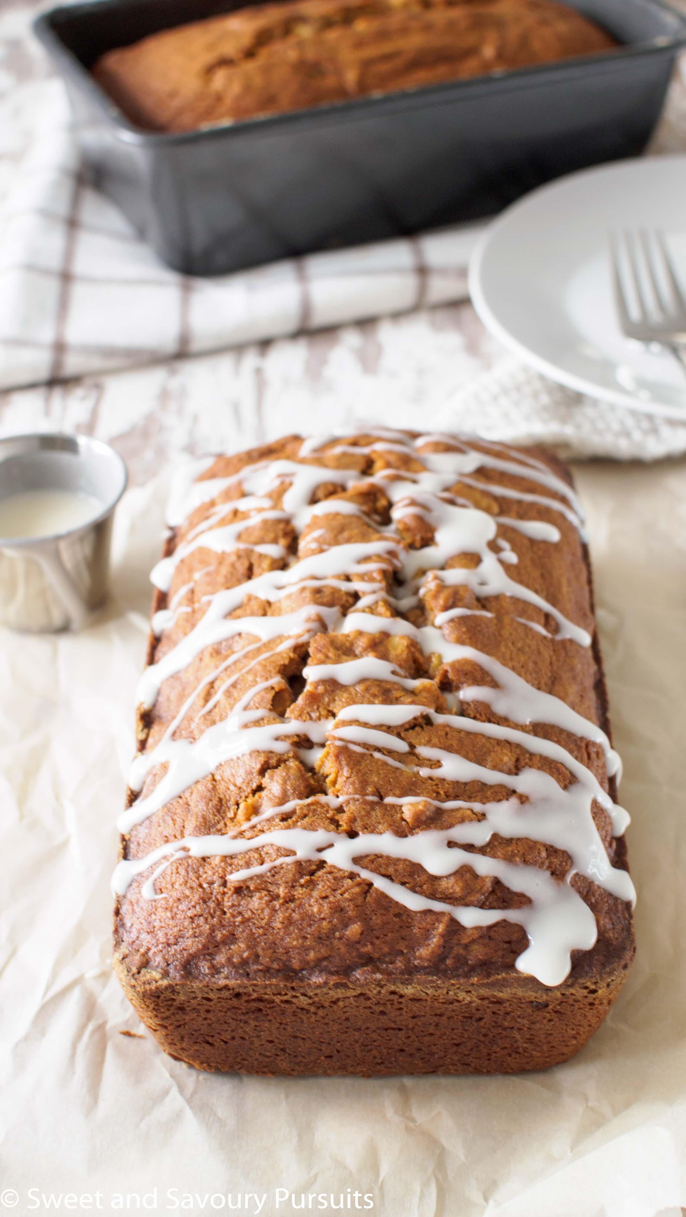 Pumpkin Walnut Loaf