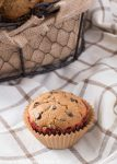 Browned Butter Whole Wheat Chocolate Chip Muffins
