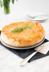 One large Spanakopita Pie