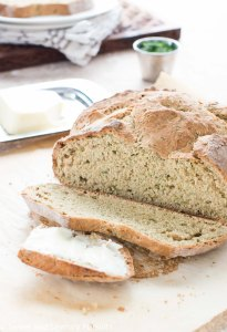 Irish Soda Bread with Dill