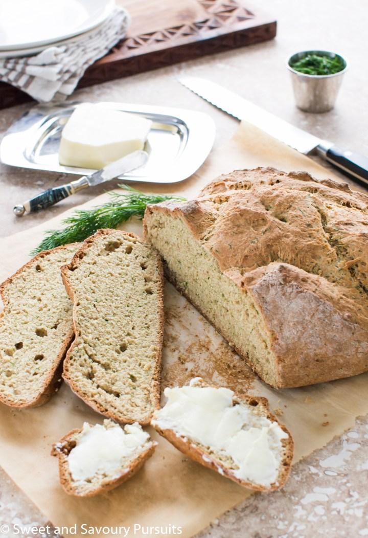 Sliced Irish Soda Bread