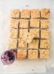 Blueberry Jam and Hazelnut Bars