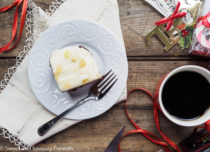 Classic Gingerbread Cake with Cream Cheese Frosting