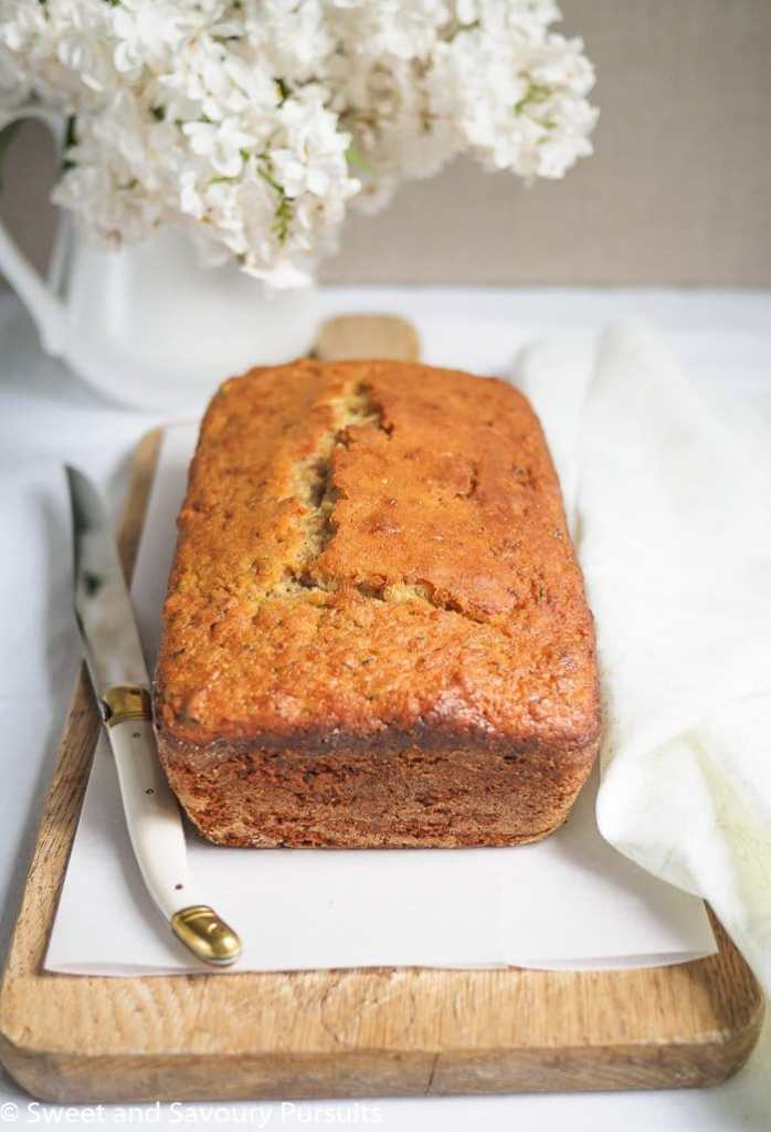 Lemon Zucchini Walnut Loaf