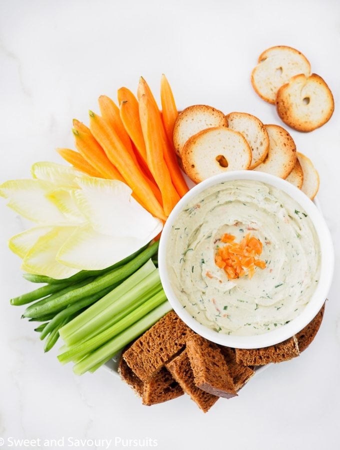 Smoked Salmon Cream Cheese Dip