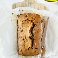 Pear, Date and Walnut Loaf