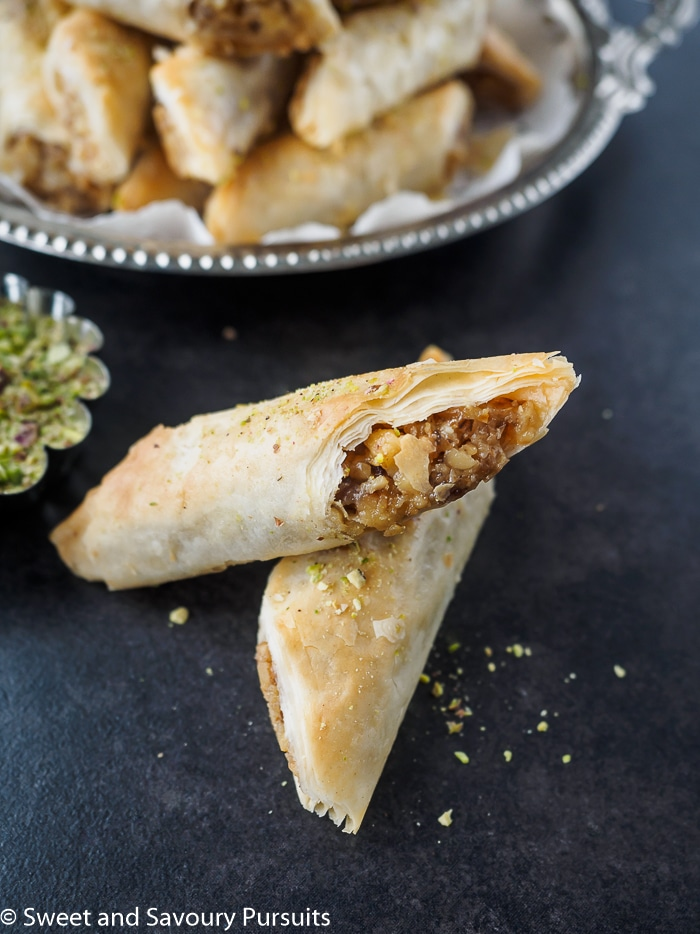 Mom's Rolled Baklava Recipe