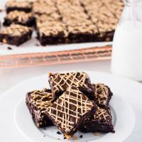 Salted Caramel Chip Brownies