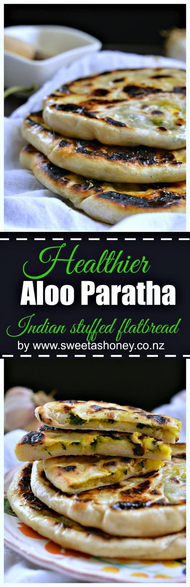 aloo paratha stuffed bread