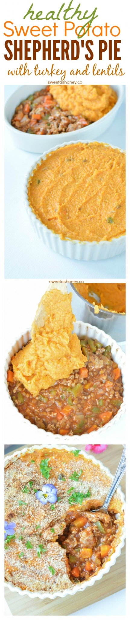 Healthy Sweet Potatoes Shepherd's Pie