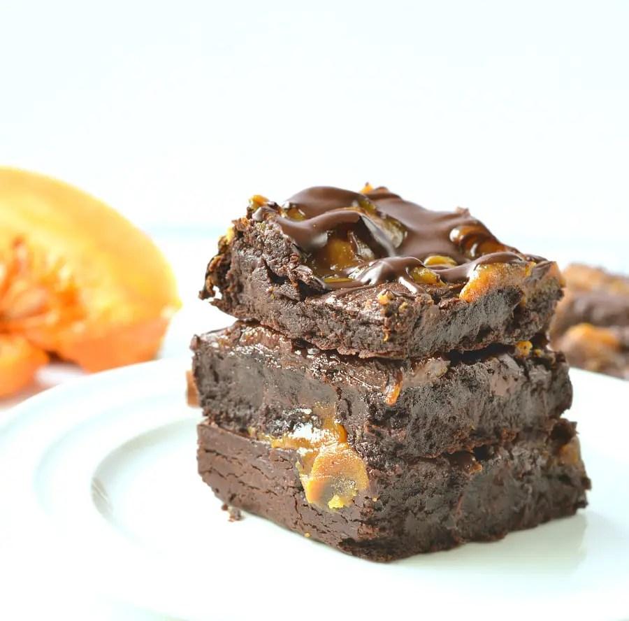 Keto Pumpkin Brownies