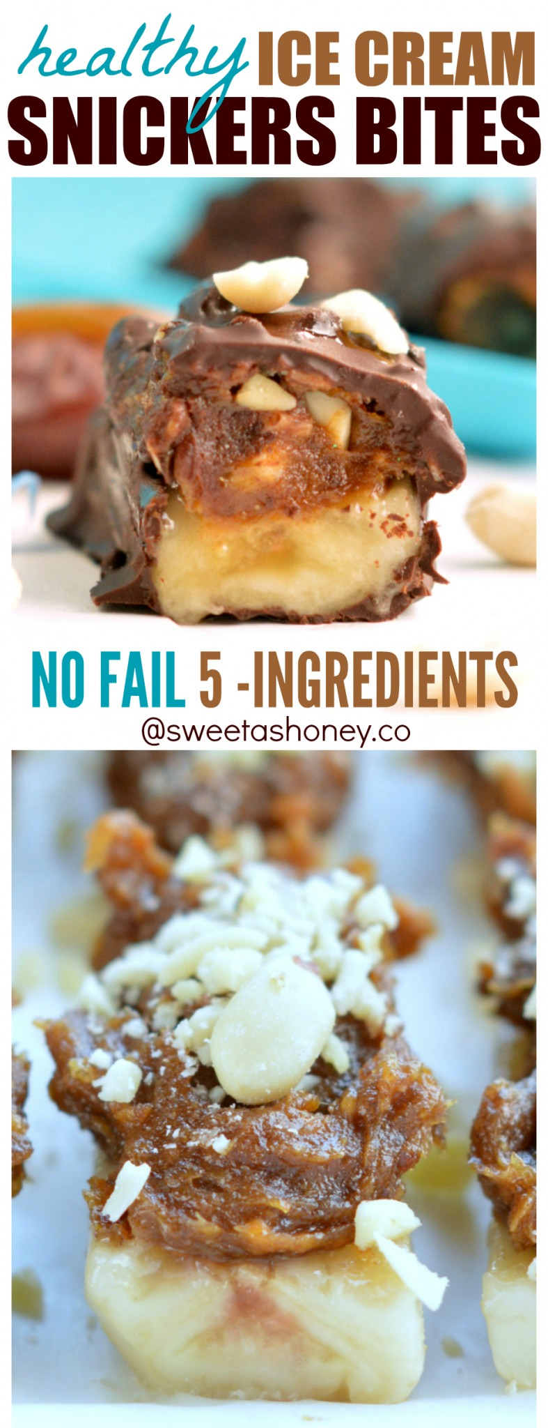 snickers candy bars healthy frozen ice cream