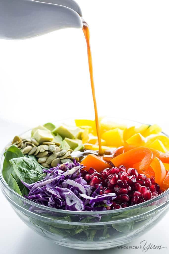 wholesomeyum_rainbow-salad-with-pomegranate-vinaigrette-paleo-low-carb