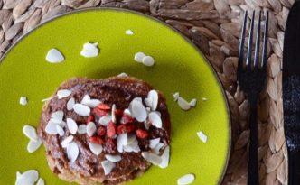 Pancakes με άλλειμα σοκολάτας_sticky