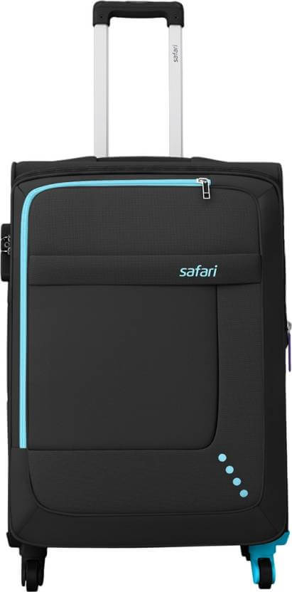 Safari STAR 65 4W BLACK Expandable Check-in Luggage – 26 inch @ Rs. 2755 { Regular Price : 7776}