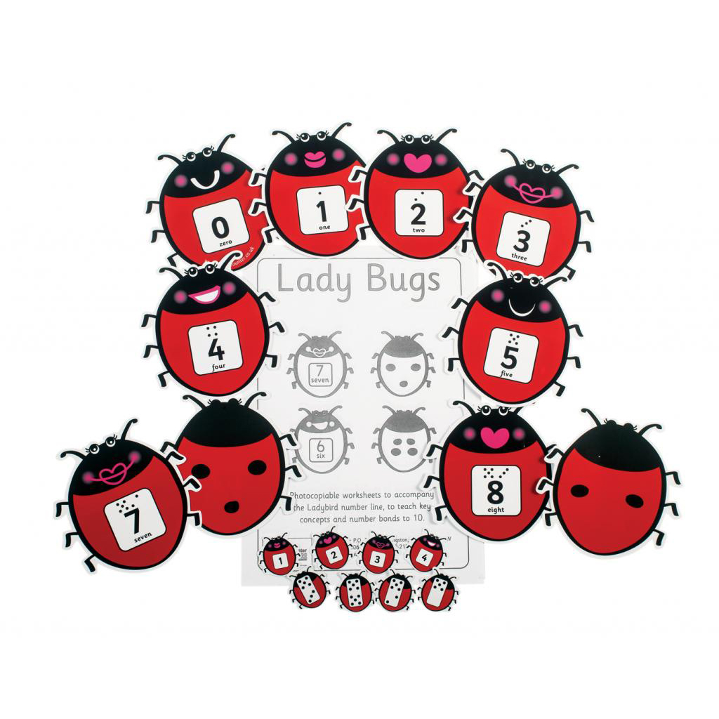 Lady Bugs Pack Of 12