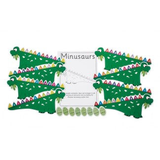 Minusaurs, pack of 4