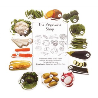Vegetable Shop, pack of 5